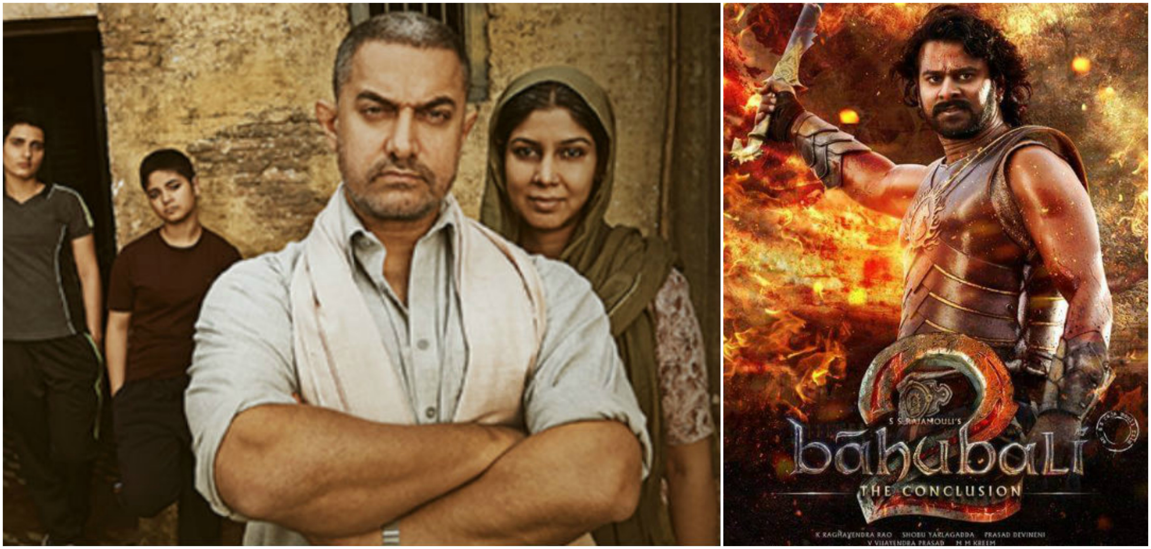 Photo : Dangal Movie beats Bahubali 2
